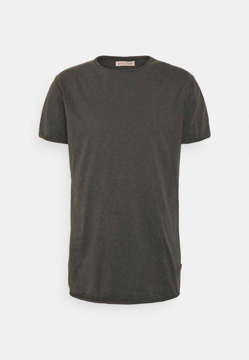 REVOLUTION - ROLL EDGE - T-shirt basic - black