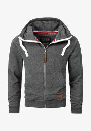 Zip-up hoodie - dunkelgrau