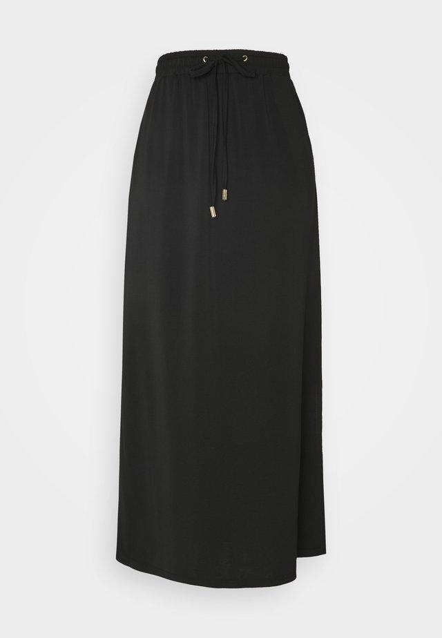 ANTONIA SKIRT - Maxi skirt - black deep