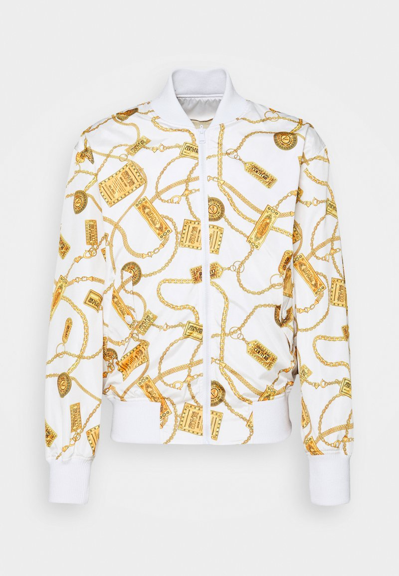 Versace Jeans Couture - JACKET - Chaquetas bomber - white