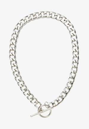 GEKORDELTE HALSKETTE  - Necklace - silver-coloured