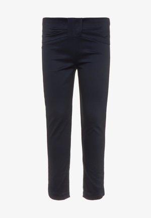 PANTS BOW - Pantaloni - navy blazer
