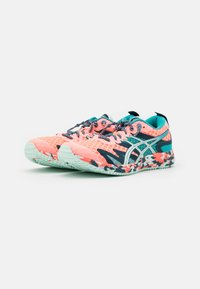 ASICS - GEL-NOOSA TRI 12 - Competition running shoes - sun coral/bio mint - 1