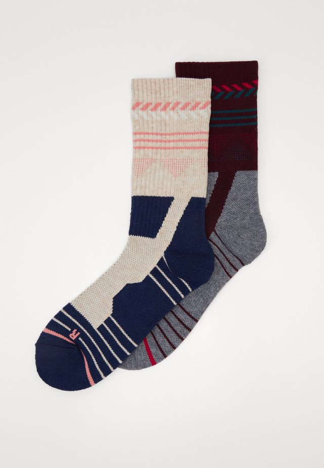 HIKING PERFORMANCE SOCKS 2 PACK - Socks - blue/grey