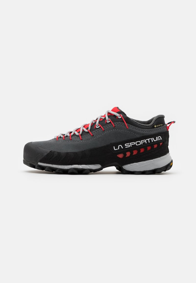 La Sportiva - TX4 WOMAN GTX - Hiking shoes - carbon/hibiscus