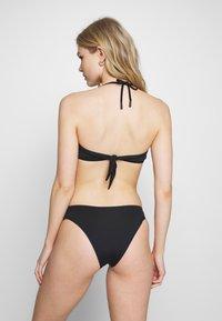 KARL LAGERFELD - BICOLOR BOTTOM - Bikini bottoms - black - 2