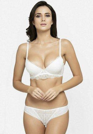 SET - Push-up bra - white