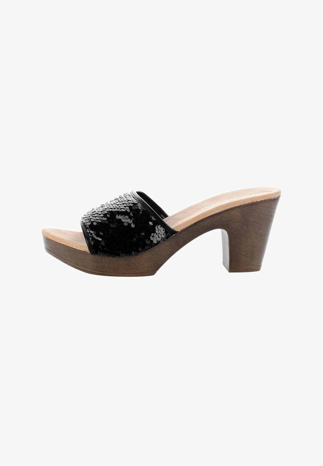 VAGLIO  - Korkeakorkoiset sandaalit - black