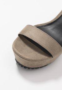 Even&Odd - High heeled sandals - oliv - 2
