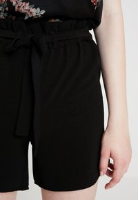 ONLY - ONLTURNER PAPER BAG  - Shorts - black - 6