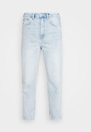 MEG HIGH MOM WASHED BACK - Jeans straight leg - morning blue