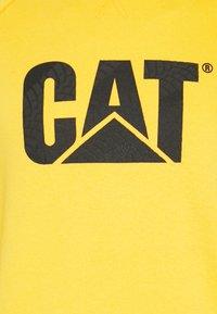 Caterpillar - WHEEL PRINT - Sweatshirt - yellow - 2