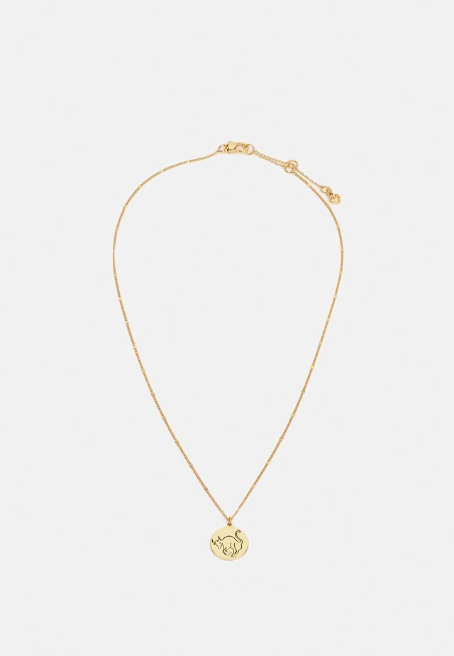 TAURUS PENDANT - Collana - gold-coloured
