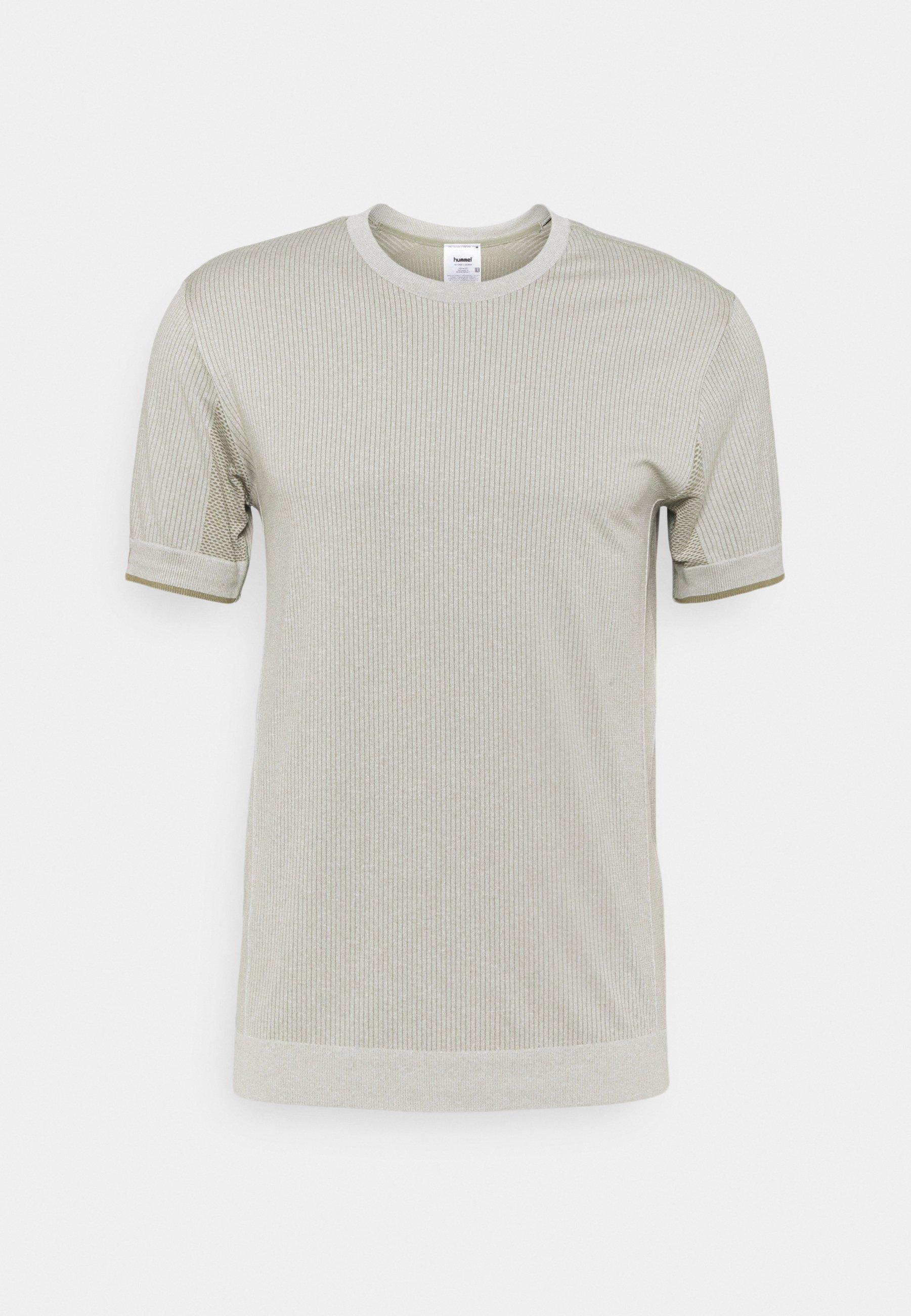 Men HMLJOE SEAMLESS - Print T-shirt