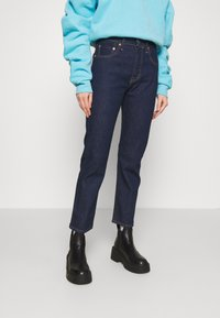 Levi's® Made & Crafted - 501 CROP - Jean droit - raw indigo - 0