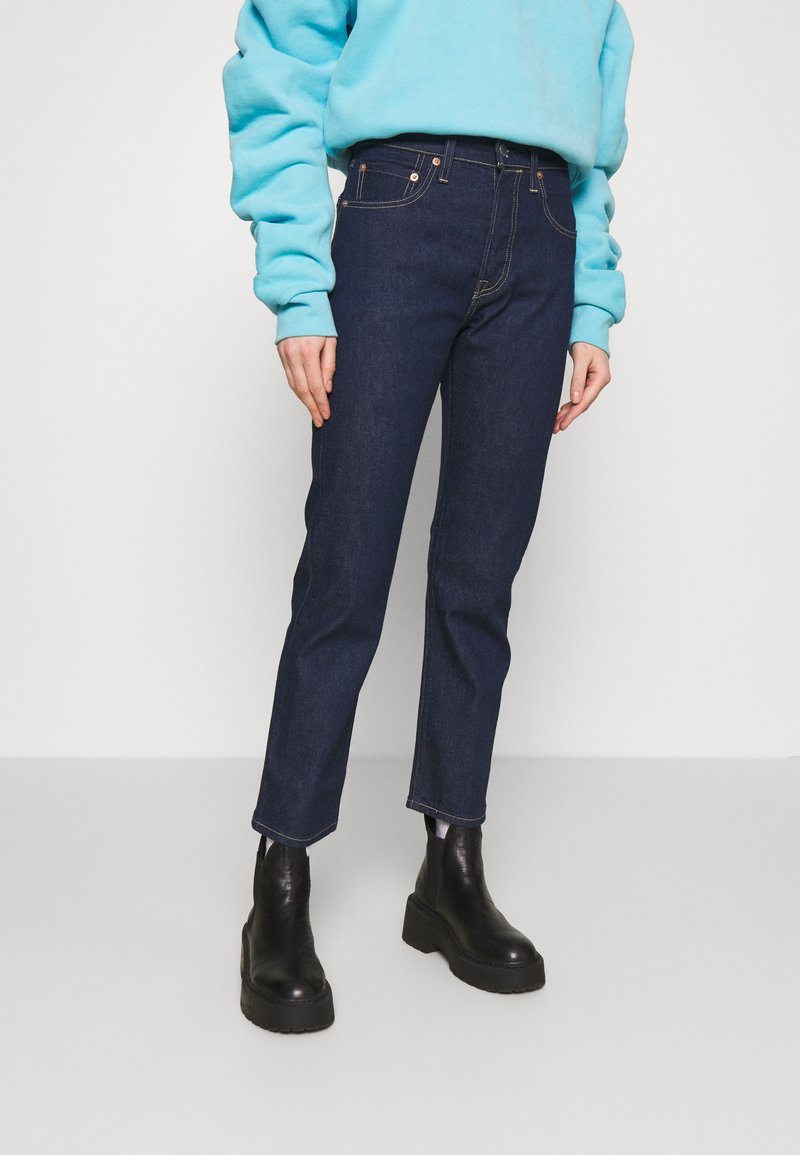 Levi's® Made & Crafted - 501 CROP - Jean droit - raw indigo