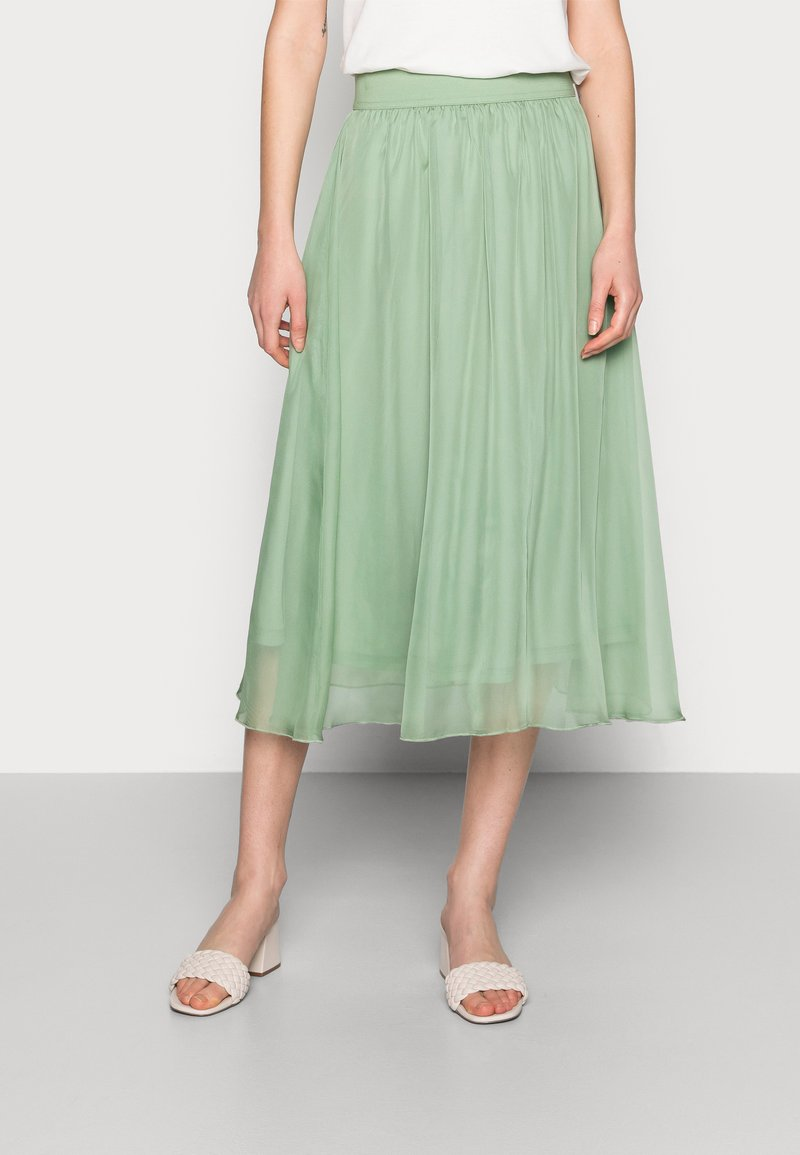 Saint Tropez - CORAL SKIRT - A-line skirt - basil