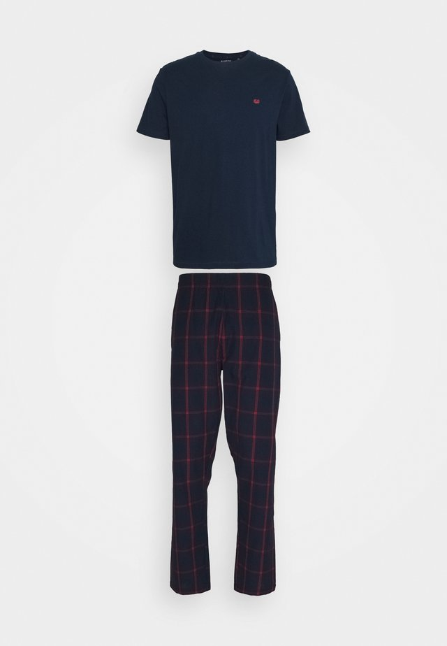 WINDOWPANE CHECK PJ - Pyjama - navy