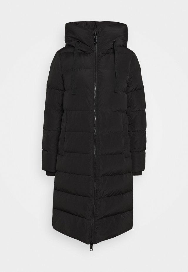 NOVA COAT - Płaszcz puchowy - black