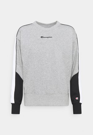 CREWNECK - Collegepaita - mottled grey