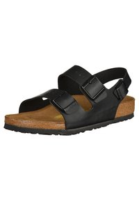 Birkenstock - MILANO - Sandals - black - 6