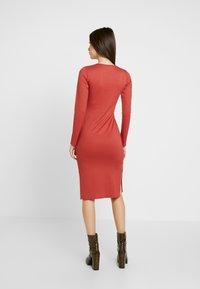 Gina Tricot - SASSI DRESS - Shift dress - rust - 3