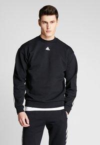 adidas Performance - CREW - Sweater - black/white - 2