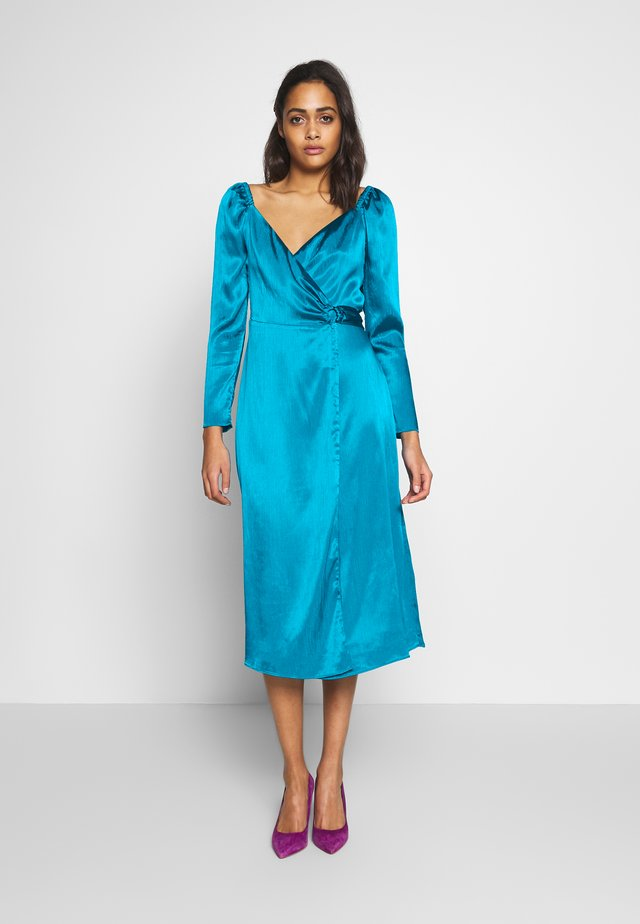 LUCETTE MIDI DRESS - Day dress - turquoise