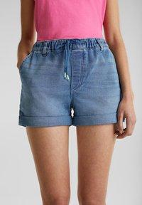 edc by Esprit - Denim shorts - blue medium washed - 3