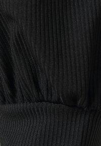 Missguided Tall - LONG SLEEVE CROP - Top sdlouhým rukávem - black - 2
