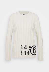 MM6 Maison Margiela - Strikpullover /Striktrøjer - cream - 0