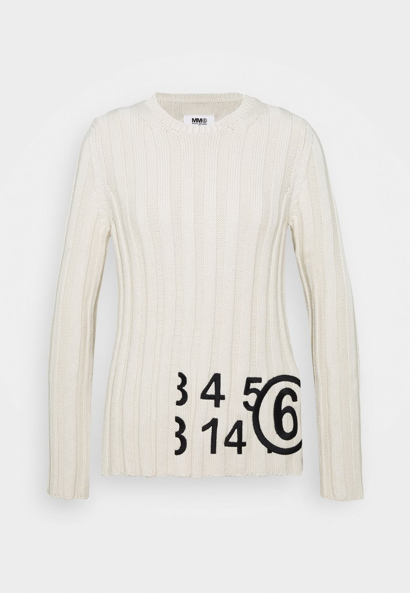 MM6 Maison Margiela - Strikpullover /Striktrøjer - cream
