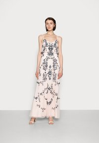 Adrianna Papell - BEADED BLOUSON GOWN - Suknia balowa - pale pink - 0