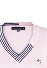 Felix Hardy - Jumper - pink navy - 6