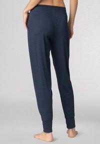 mey - SCHLAFHOSE SERIE NIGHT2DAY - Pyjama bottoms - night blue - 2