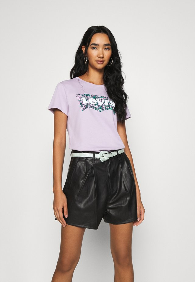 THE PERFECT TEE - T-shirt con stampa - purple