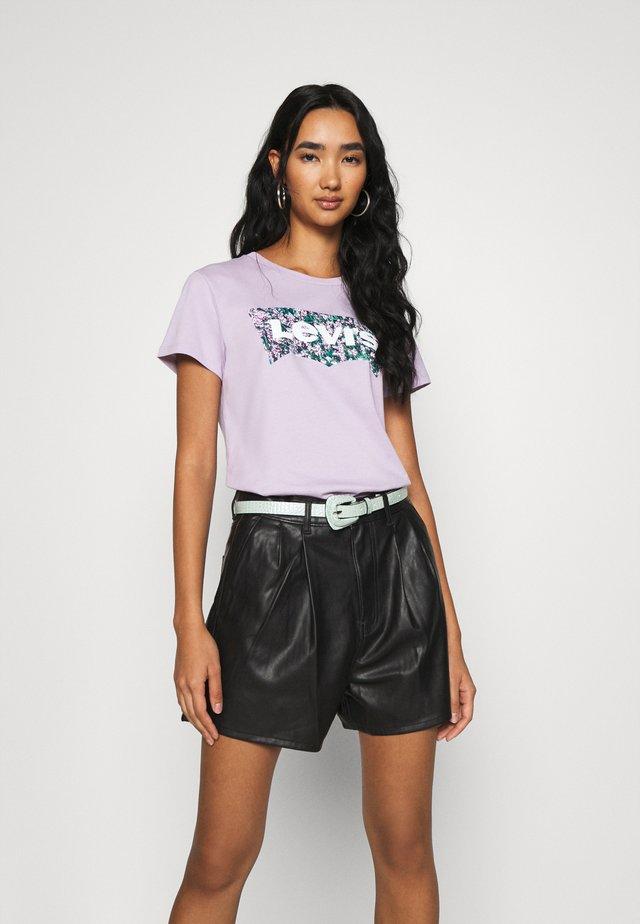 THE PERFECT TEE - T-shirt z nadrukiem - purple