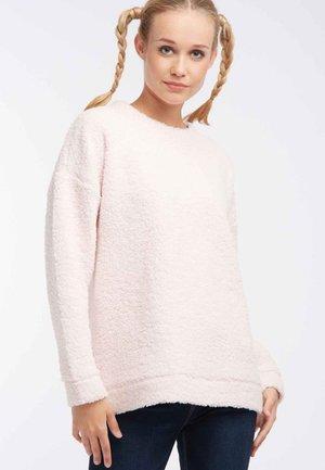 Bluza z polaru - pink
