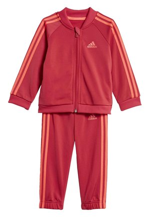 STRIPES TRICOT TRACKSUIT - Survêtement - pink