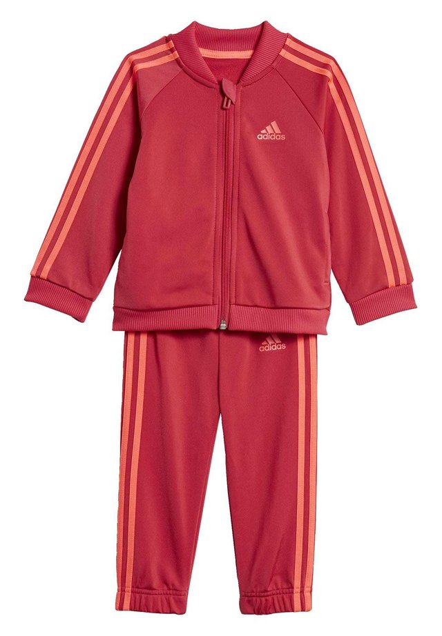 STRIPES TRICOT TRACKSUIT - Trainingsanzug - pink