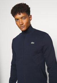 Lacoste Sport - CLASSIC JACKET - Mikina na zip - navy blue - 3