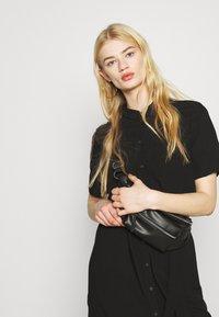 Pieces - PCCECILIE DRESS - Shirt dress - black - 3