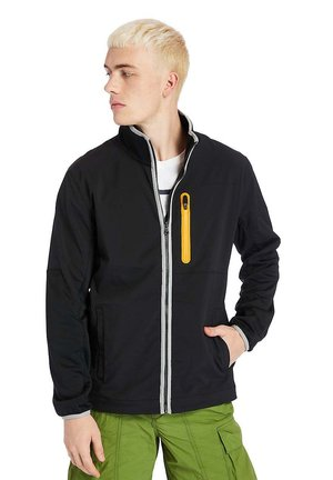 HYBRID - Zip-up hoodie - black