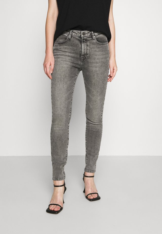 BOWIE CROPPED VINTAGE - Jeans Skinny Fit - 8 grey