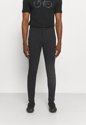 BIKE PANTS ALASKA - Trousers - black