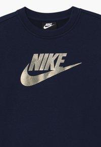 Nike Sportswear - SHINE CREW - Mikina - obsidian - 2