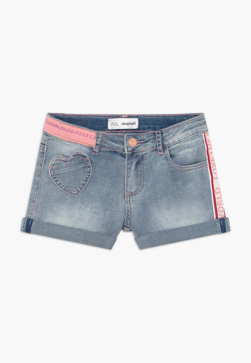Desigual - RODRIGUEZ - Short en jean - blue denim