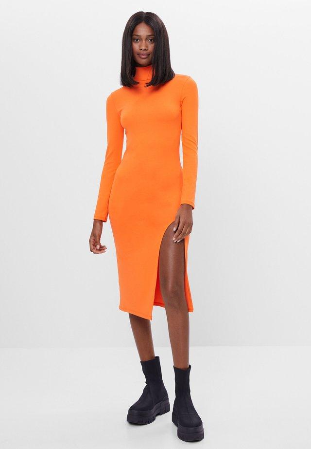 Etui-jurk - orange