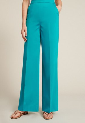 Trousers - turchese