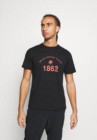 Mammut - SEILE - T-shirts med print - black - 0